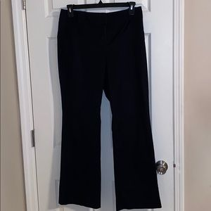 Ann Taylor Loft Black Julie Pants